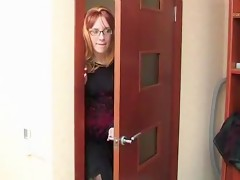 Red head slut fucking her son free