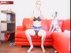 Horny chick slut masturbation with dog porn HD free xxx