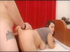 Great butt wife ass fucked by tattooed guy xxx