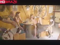 Horny teen girl enjoys dog sex with dildo - HD Porn