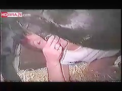 Bitch MILF slut gets nailed her wet cunt by a huge horse porn cock