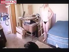 Perfect body slutty girl fucked by dog porno HD