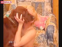 Blonde babe lets dog drill her cunt zoo porno