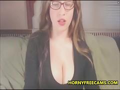 Hairy Teen With Massive Mega Big Natural Tits