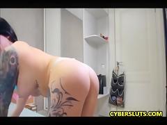 Full Tattoo Babes Big Booty