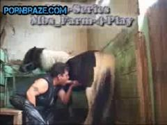mature bbw Sucking Horse Free - Animal Porn Free