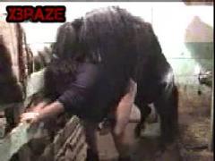 Awesome dog fucks crazy porn zoo