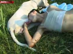 She Public Passion Suck And Swallow Dog