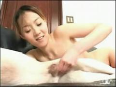 Asian dog porn getting creampie