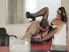 alexa tomas - sex in office