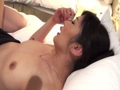 Hibiki Otsuki fucked her officemate in hotel-part4