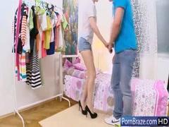 Sexy teen girl having fun on first date