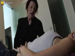 Hot Daughter Seduced by Naughty Lesbian Granny: HD Porn