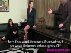 FemaleAgent - Sexual woman blossoms before agents eyes