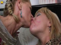 Girl Fucked by Two Mature Lesbians