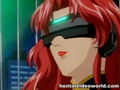 Anime adult cartoon brings girl to love world