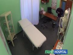 FakeHospital - Blonde bitch patient gets fucked by doctor and nurse