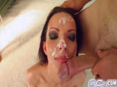 Cute girl wanna cum on face - HD porn blowjob