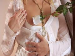 Blonde honey Aprilia has sex on a first date