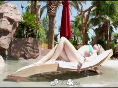 Bikini Cute Teen Taylor gets a big Big Dick to play with - HD 720P Sex