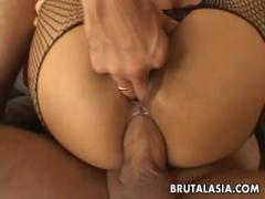 Whore MILF recieves a butt pounding crazily - HD Porn
