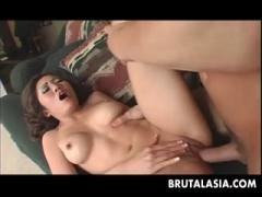 Hot Sexy Brunette Girl Gets Drilled By A Hard Cock - HD Porn