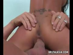 Ama hottie gets hammered crazily a fat dick - Anal HD Porn