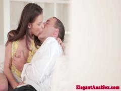Sweet babe gets anal cumshot - HD Video | Pornbraze.com