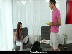 Sexy teen pays rent with sex - HD Video | Pornbraze.com