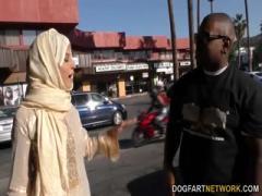 Hijab beauty Nadia Ali fucking a BBC - HD Video   Pornbraze.com