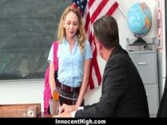 Skinny blonde school girl fucked by the teacher - HD Film  Pornbraze.com