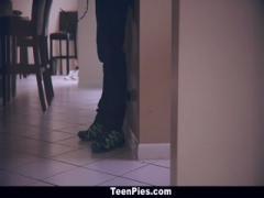 TeenPies - Neighborhood Slut Gets Cream-Filled - HD Video  Pornbraze.com