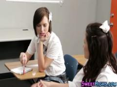 Student threesome - HD Film  Pornbraze.com