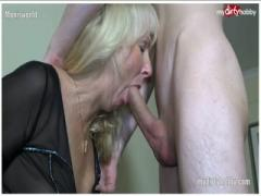 German amateur cougar fucking a young guy - HD Video  Pornbraze.com