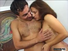Brunette Sluts Stephanie Cane And Melissa Monet Share A Dick