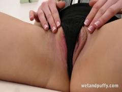 Long haired blonde in a hot solo scene - HD Film  Pornbraze.com