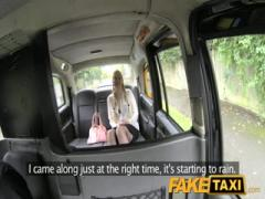 Fake Taxi Blonde likes older men in taxi