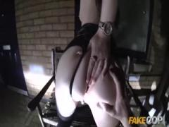 Fake Cop Cheeky young lass likes daring sex
