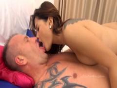 Sexy thai babe loves some European cock - HD Braze