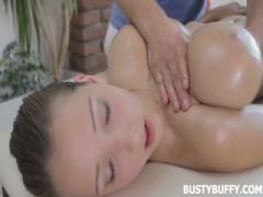 Busty breast massage with Lucie Wilde - HD Braze