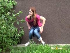 Peeing Women Compilation 003 - HD Video