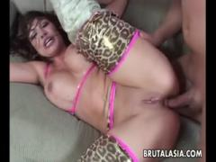 Sexy Asian dirty dancer gets pounded a fat penis - HD Porn
