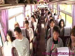 Japanese Sucking Teen group Sexsex action Beautifull Teens on a bus - Hot Video Sex