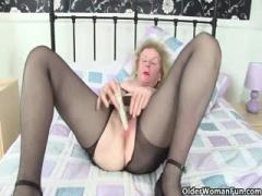 Girl In Light Blue Dress Pulls It Up To Show Her Puss