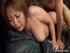 Threesome fuck with one hairy pussy crazy sucking deep - Japanese porn HD