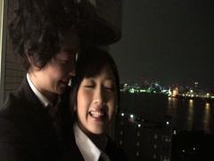 Hibiki Otsuki fucked her officemate in hotel-part2