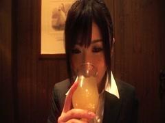 Hibiki Otsuki fucked her officemate in hotel-part1