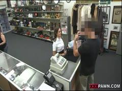 Slut Blonde Mke Money In Shop