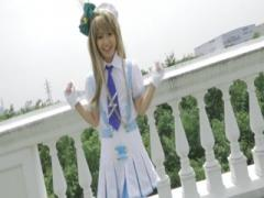 Cosplay Babe Japanese Masturbation