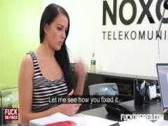 Fuckof - Samanta three time gets fucked by boss